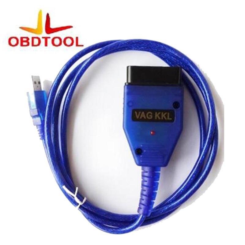 ObdTooL Free Shipping VAG KKL 409.1 With FTDI 232 Chip VAG 409 USB 409.1 USB KKL Cable Interface Diagnostic Tool