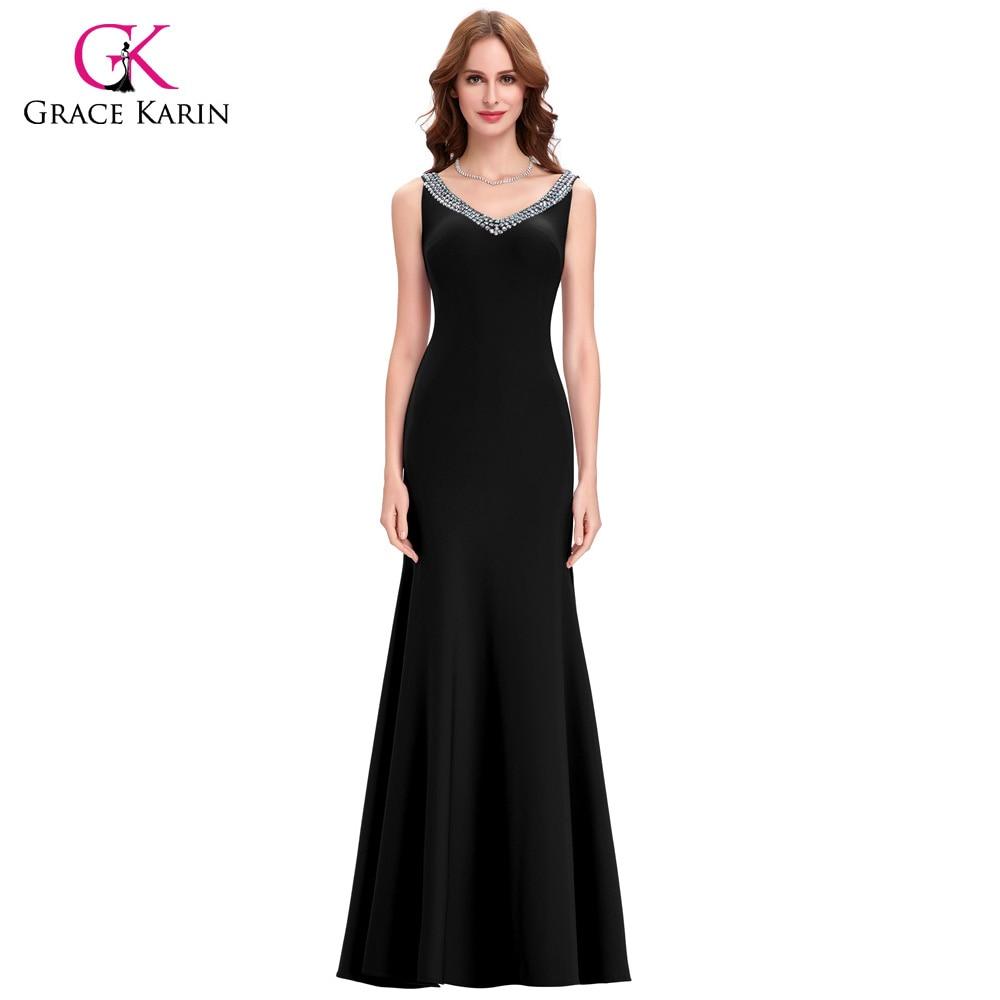 Grace karin slit long purple red mermaid evening dresses for Formal dresses for weddings cheap