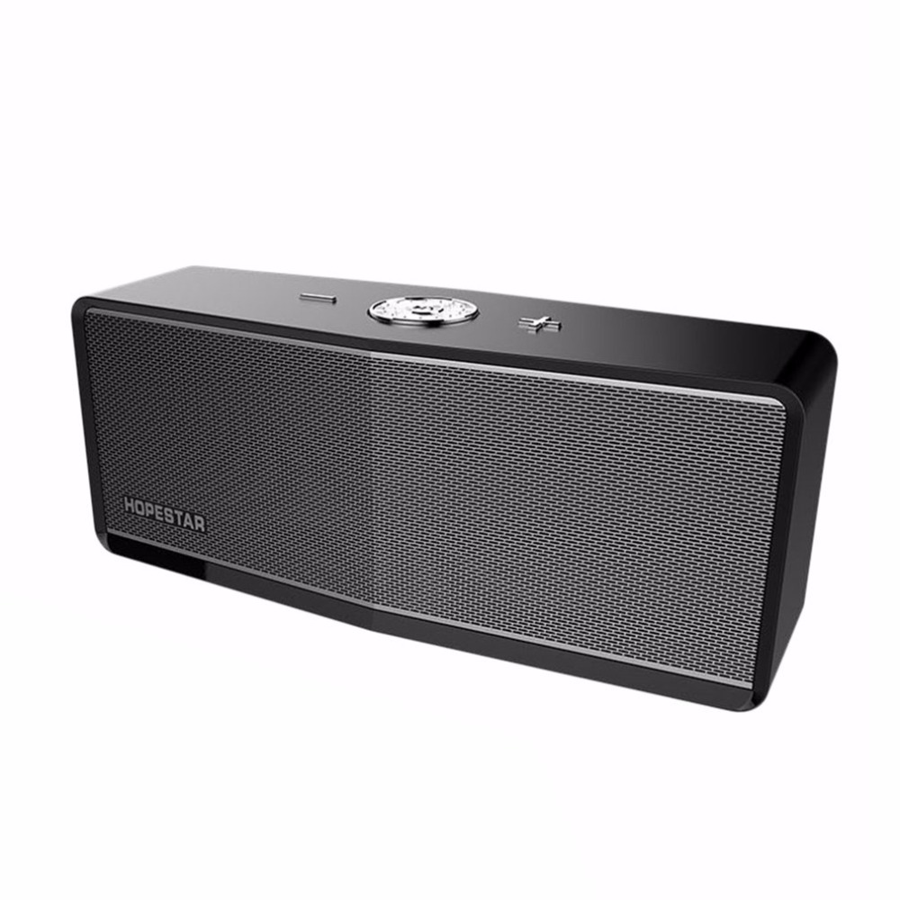 HOPESTAR Wireless Bluetooth Wireless Speaker soundbar subwoofer FM Portable Power Bank bluetooth speaker sound bar caixa de som dbigness bluetooth speaker caixa de som portable bluetooth speaker wireless fm radio speaker with alarm clock led time display