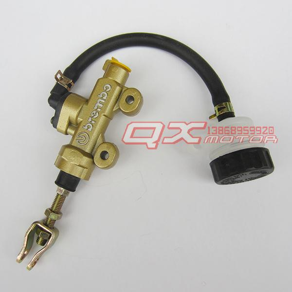 Rear Foot Disc Brake Master Cylinder Pump With Oil Cup 150cc 200cc 250cc ATV Quad Gokart Dirt Pit Bike