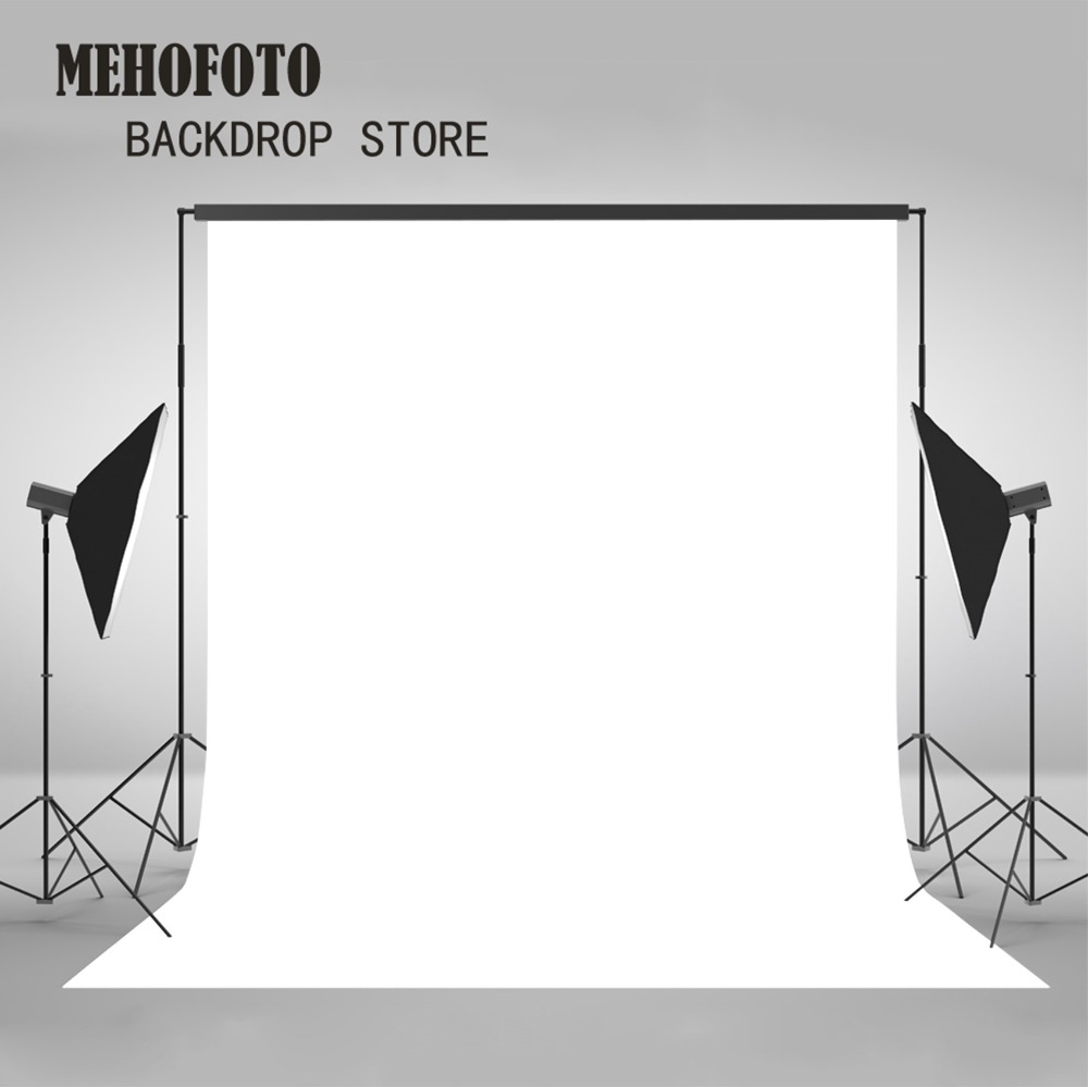 Mehofoto White Photography Backdrops Photo Background Product Studio Porps Photo Props Art Fabric Thin Vinyl 885