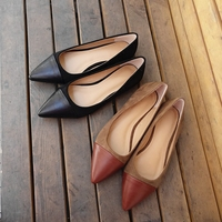 KSJYWQ Women S Sexy Pointed Toe Flats Summer Style Slip On Dress Shoes Fashion No Heel