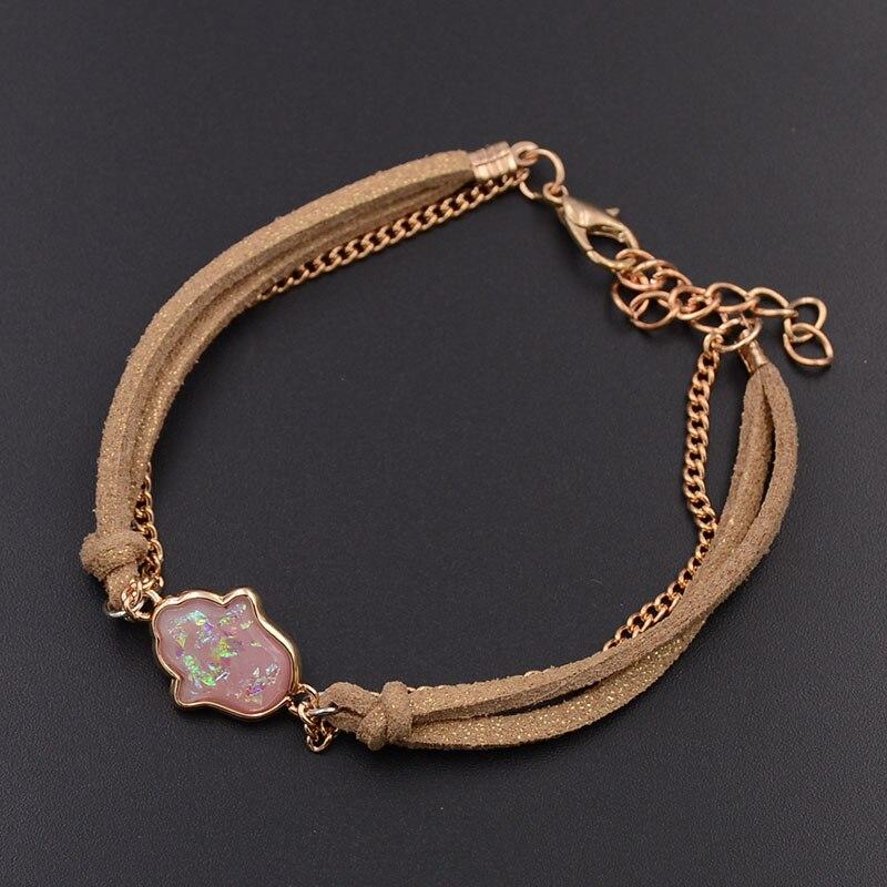 WELLMORE cheap chain palm bracelets for women bohemia lobster charm bracelets fashion jewelry women bracelets drop shipping
