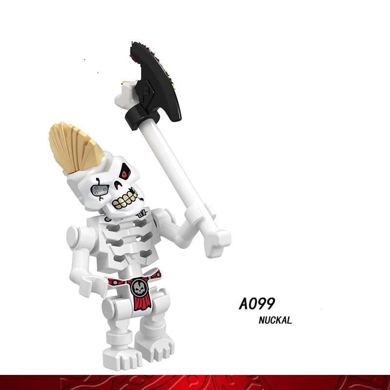 Single Sale Compatible LegoINGlys Ninja Figure NUCKAL CHOKUN NAY WU SCOUT LLOYD Bricks Building Blocks Collection Toys Boys Gift