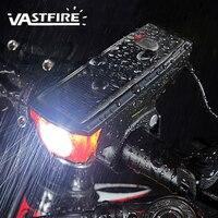 USB Akumulator Energii Słonecznej Róg 350 lm XM-L T6 LED Light Bike z Rowerów Przednia Kolarstwo Światło Wodoodporny Reflektorów
