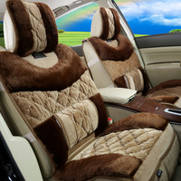 Car Seart Cover MATS Cushion Seat High Quality Plush Like Fox Fur Interior Accessories Car Styling