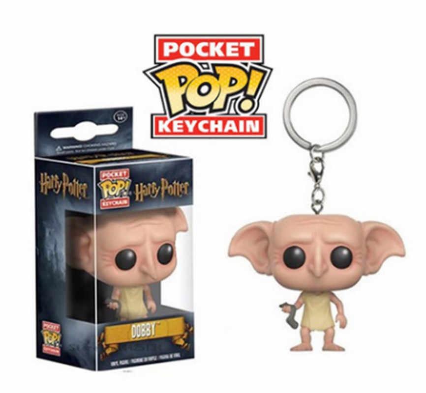 Оригинальный Funko POP Гарри Поттер Снейп, Гермиона брелок мини игрушка фигурка Аниме подарок коллекция игрушек