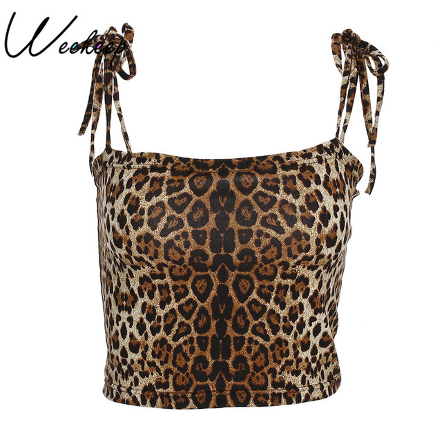 Leopard Cropped Camisole...
