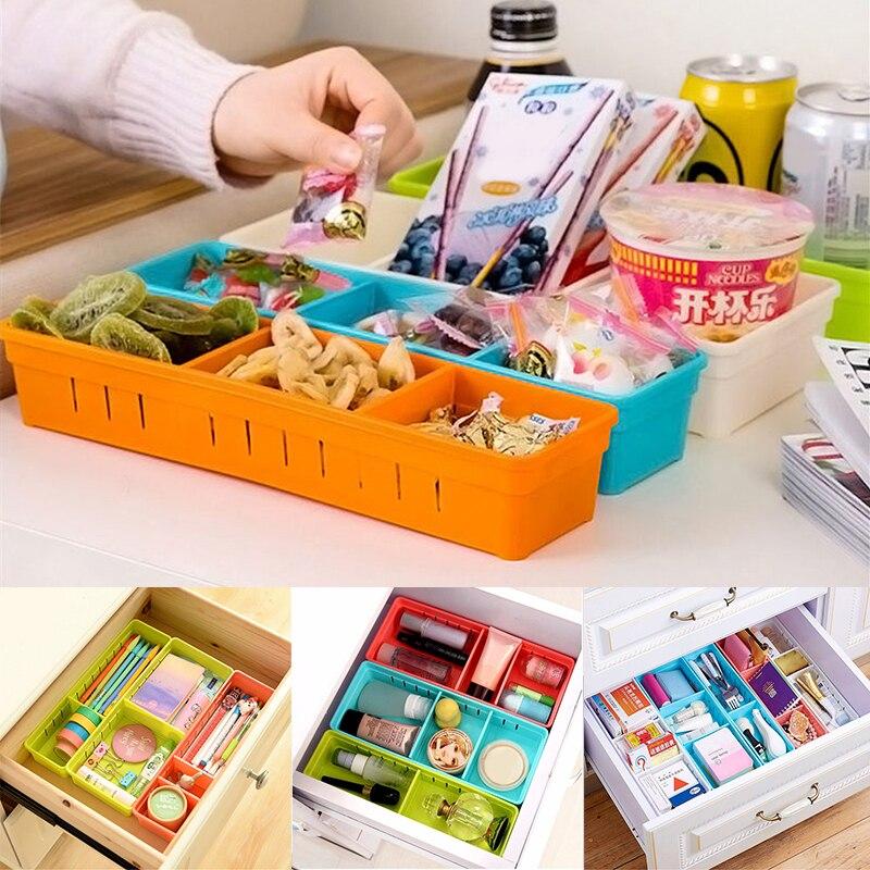Stick On Desktop Makeup Storage Pen Holder Plastic Desk Organizer Stationery Clear-Cut Texture Pen Holders