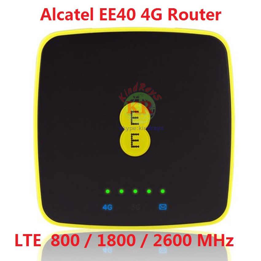 Mifi 4g débloqué Alcatel EE40 4G Portable MIFI Hotspot Modem wi-fi poche dongle wifi routeur 4g carte sim 3g routeur portable
