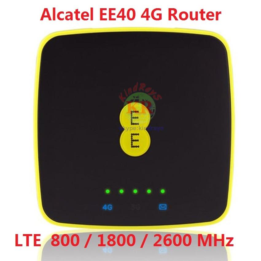 Mifi 4g Unlocked Alcatel EE40 4G Portable MIFI Hotspot Modem Wi-fi Pocket Dongle Wifi Router 4 G Sim Card 3g Router Portable