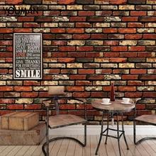 купить YOUMAN 10M 3D Self adhesiv Wall Sticker Wall Paper Brick Stone Effect Waterproof Self-adhesive Wallpaper Home Decor Living Room по цене 1882.29 рублей