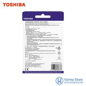 Image 4 - Toshiba WIFI SD card di memoria ad alta velocità SLR scheda della fotocamera supporta 4 K wireless WIFI carta di 32 GB