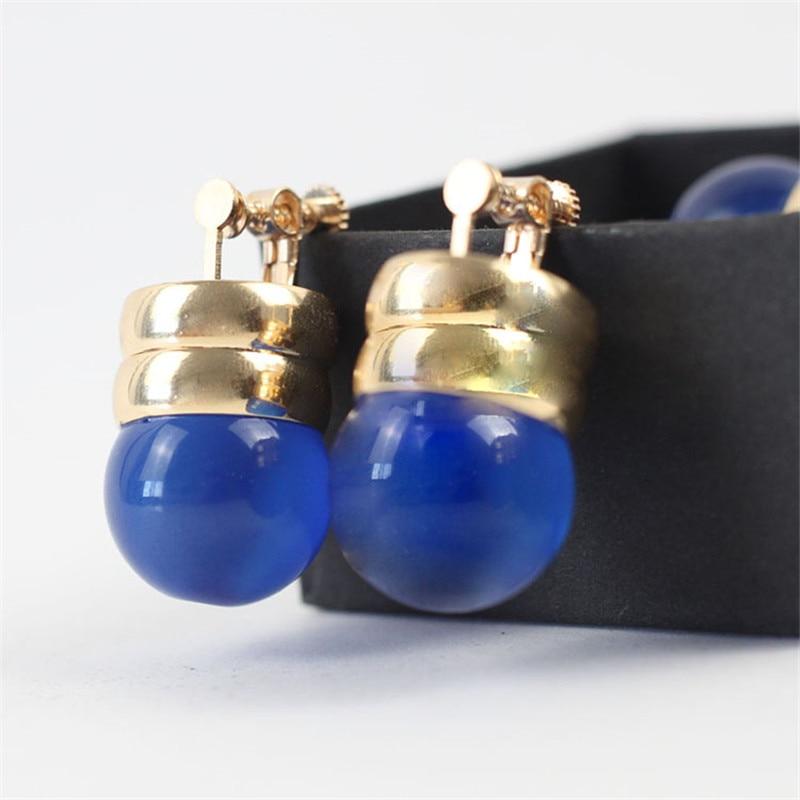 New Hunter X Hunter KURORO RUSHIRUFURU Earrings 1 Pair Ear Hook Ear Clip Cosplay Prop Gifts With Gift Box