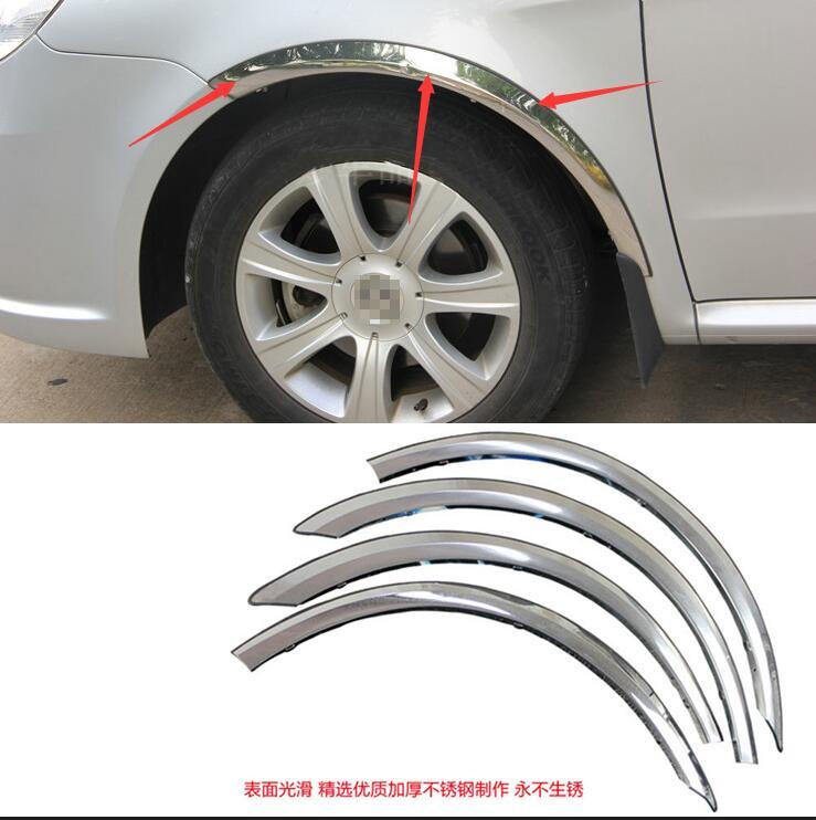 Inteligente Per Toyota Camry 2015 Auto Ruota Modling Trim Auto Accessori Styling Auto Sopracciglio Ruota Decorativo Wheel Arch Sopracciglio Stripe