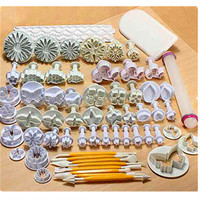 Diy Baking Tool Set For 21 68 Plastic Biscuit Mould Cakes