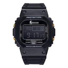2016 НОВЫЙ Военный Мужчины Цифровой Спортивные Часы Дата Сигнализации Diver 30 м Водонепроницаемый Бесплатная Доставка