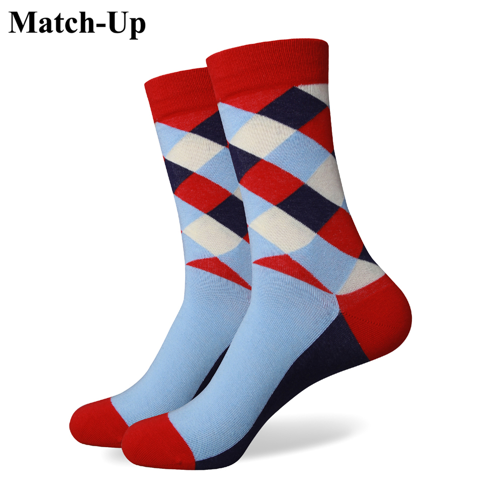 Match-Up  Men Colorful Combed Cotton Socks 264