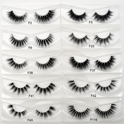Visofree Mink Eyelashes Invisible Band Lashes Natural 3D Mink False Eyelash Full Strip Transparent band lashes cilios posticos