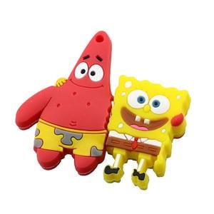 Image 3 - Pendrive 4 Gb 8 Gb 16 Gb 32 Gb 64 Gb Usb Flash Drive Carino Spongebob Patrick Insieme Disc di U bello Creativo Del Fumetto Pen Drive