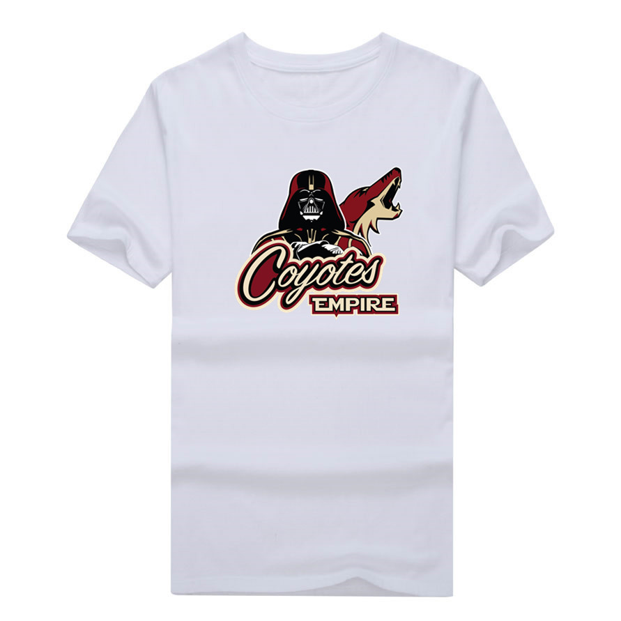 2017 New 100% Cotton Coyotes Empire T-shirt Star Wars Darth Vader Phoenix T Shirt 0105-13