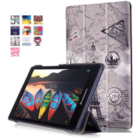 Case For Lenovo Tab2 TAB 2 A8 50F 50LC 8 Smart Cover Protective Leather Tab2 A8