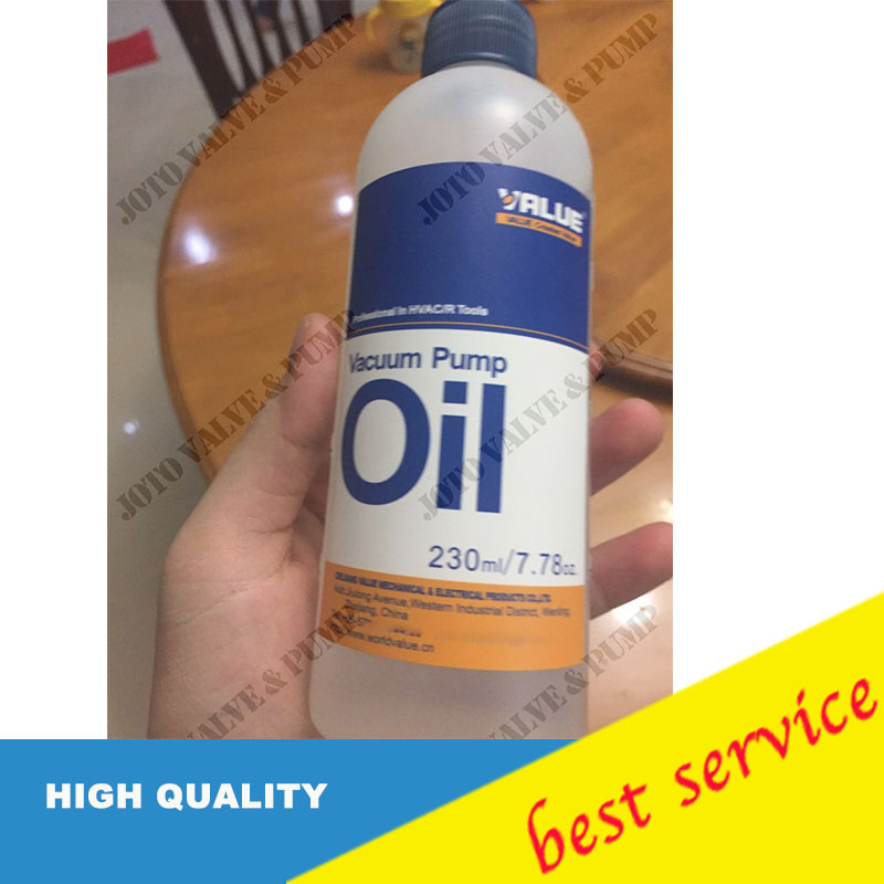 Value 230ml Vacuum Pump Oil