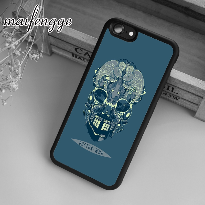 Phone Bags & Cases Sweet-Tempered Maifengge Doctor Who Tardis Skull Case For Iphone 6 6s 7 8 Plus X 5 5s Se Case Cover For Samsung S5 S6 S7 Edge S8 Plus Shell To Be Highly Praised And Appreciated By The Consuming Public