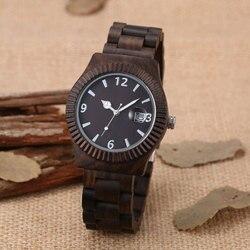Wood watch new arrival classic wrist watches men bracelet clasp japan 2035 movement quartz clock with.jpg 250x250