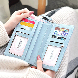 Image 3 - TOKOHANSUN Universal Casual Bag Multilayer Mobile Phone Case Wallet Card cell phone shoulder strap wallet For iPhone For Huawei