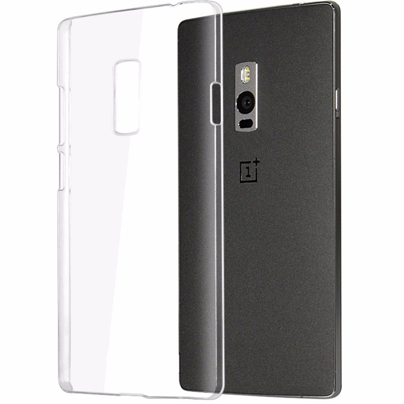 finest selection 57247 e88f0 US $1.36 |Original Hard PC Clear Back Phone Case For Oneplus 1 2 3 X / One  Plus One Two Three X E1001 E1003 Transprent Shell Back Cover-in ...
