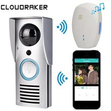 WIFI 720P Video Doorbell Wireless Door Phone Intercom Monitor Night Vision Unlock Smart Bell HD Camera PIR Motion Sensor