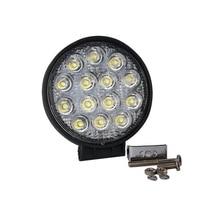 Free Shipping 42W 7 Inch LED Work Light Bar 12 X 3w Led Chip Flood Spot