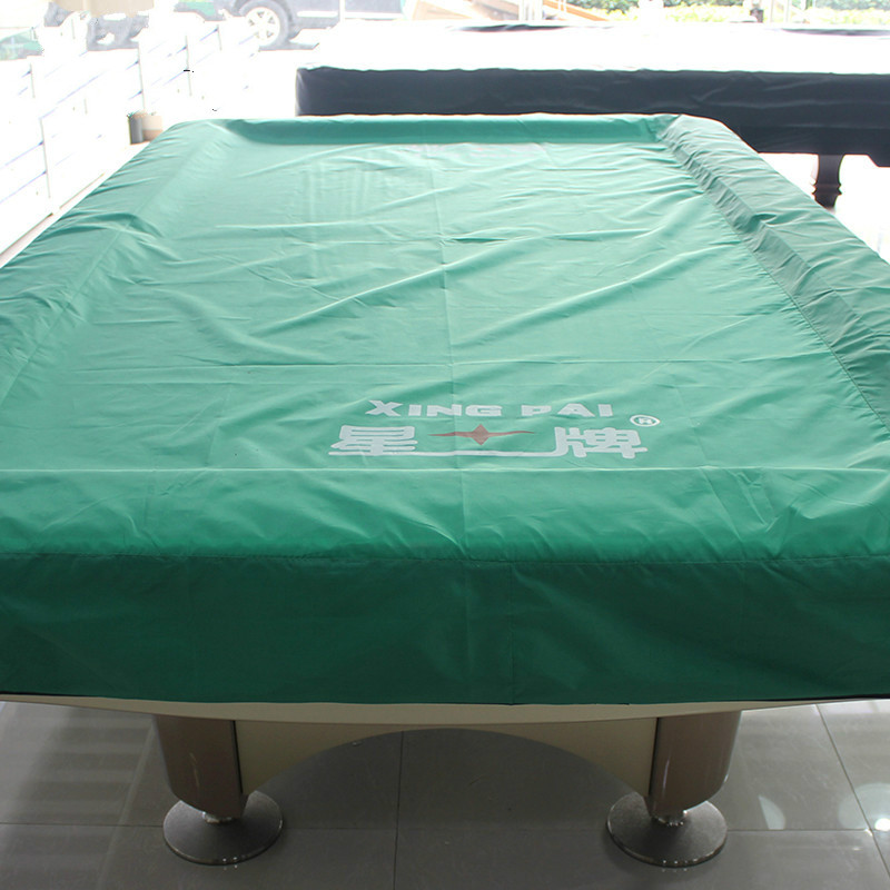 1 Set Billiard Table Cover Dust-proof Cover Cloth Nine Ball Snooker Table betfred world championship snooker quarter final table 2