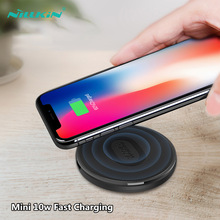 NILLKIN 10w Fast Charging Qi Wireless Charger For iPhone Xr Mini Phone Chargers Samsung S9 Xiaomi 9 Huawei P30 Pro