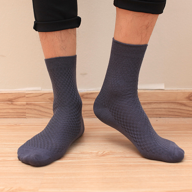 Bamboo Fiber Fashion Socks for Men