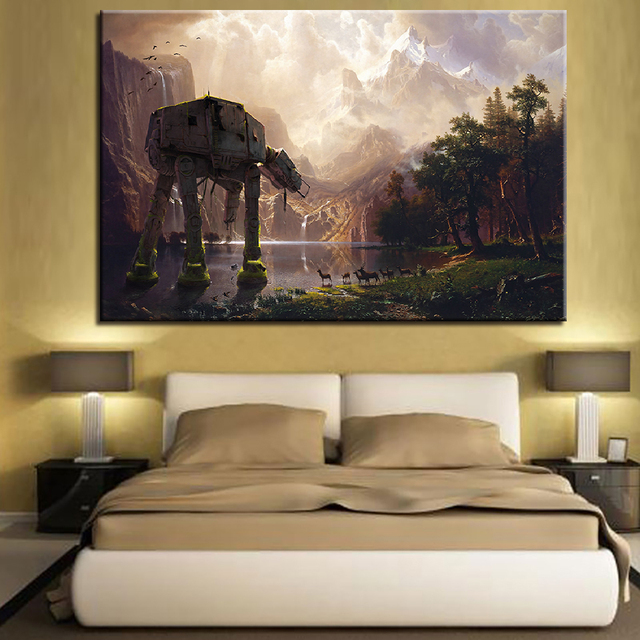Canvas Hd Prints Poster Living Room Decor Framework 1 Piece Star