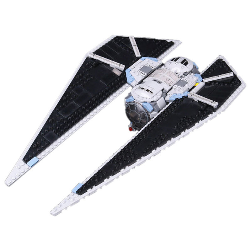 New 588Pcs Lepin 05048 Star Seiers The TIE Striker Building Blocks Bricks Toys Compatible with Lovely Gifts Toys wars War lepin 05048 star series wars 543pcs the tie striker fighter model building blocks bricks toys compatible with 75154 children toy