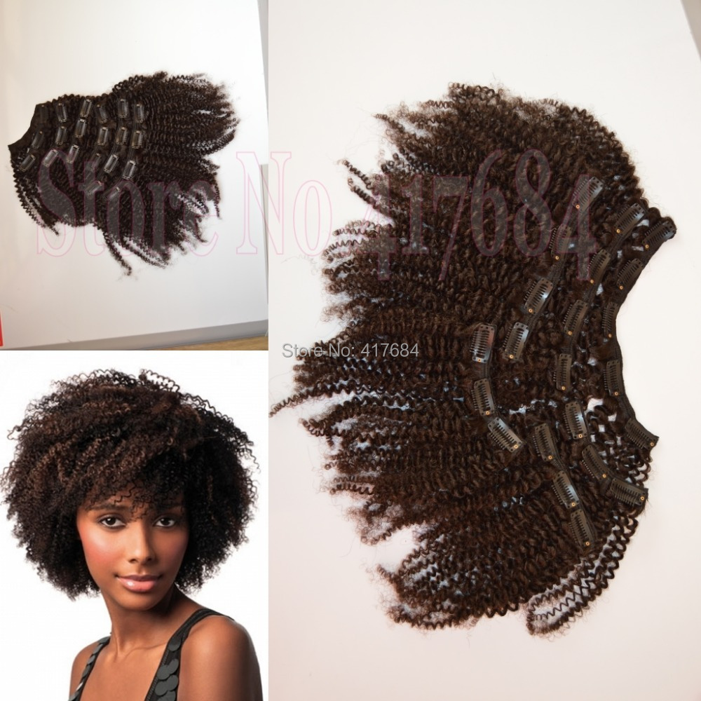 Merry Christmas Afro Kinky Curly Mongolian Hair Clip In Extensions For African American On Aliexpress