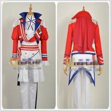 Японский Амин Б-проект korekuni рюдзи песню Косплэй костюм красный, белый индивидуальный заказ человек Костюмы