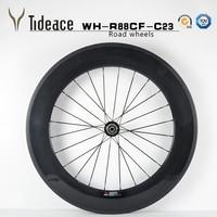 Road Carbon Wheelset Front 60mm Clincher Wheelset Rear 88mm Clincher 23mm Width Carbon Wheels Cheap Carbon