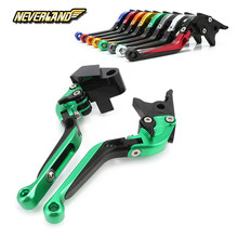 For Kawasaki Z650 Z900 Z 650 900 2017 Motorcycle Adjustable Folding Extendable Brake Clutch Levers