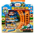 HOT DIY Slot Thomas And Friends Trains Set Toys Kids Toys For Boys Electric Thomas Train Set Trackmaster Tomas And Friends Train