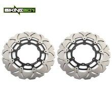 Bikingboy para bmw r850r r850rt r1100r r1100rt r1100rs k1100lt k1100rs r1100gs kl 1100 lt discos de freio dianteiro rotores