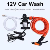 Auto Wash Water Pump Pressure Washer Simple Portable Self priming Electric High Pressure 12V Car Washer Cleaner Sprayer