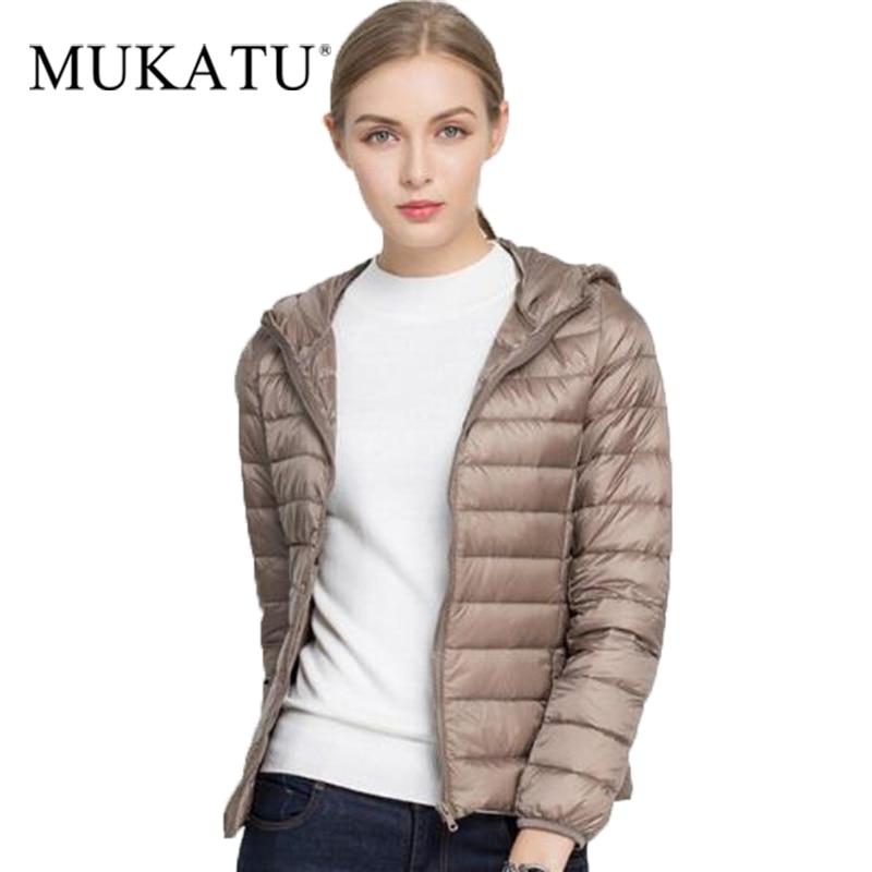 Winter Women Ultra Light   Down     Coat   90% Duck   Down   Jackets Hooded Long Sleeve Warm Slim   Coat   Parka Female Solid Portabl Outwear