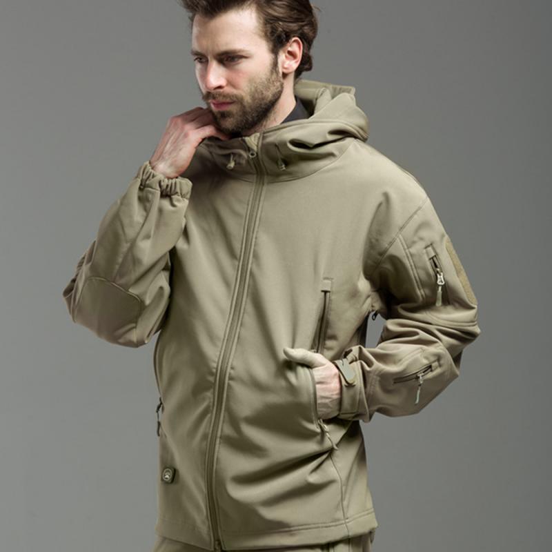 3859b373818 Hot Sale Army Camouflage Coat Military Jacket Waterproof Windbreaker  Raincoat Clothes Army Jacket Men Jackets And Coats