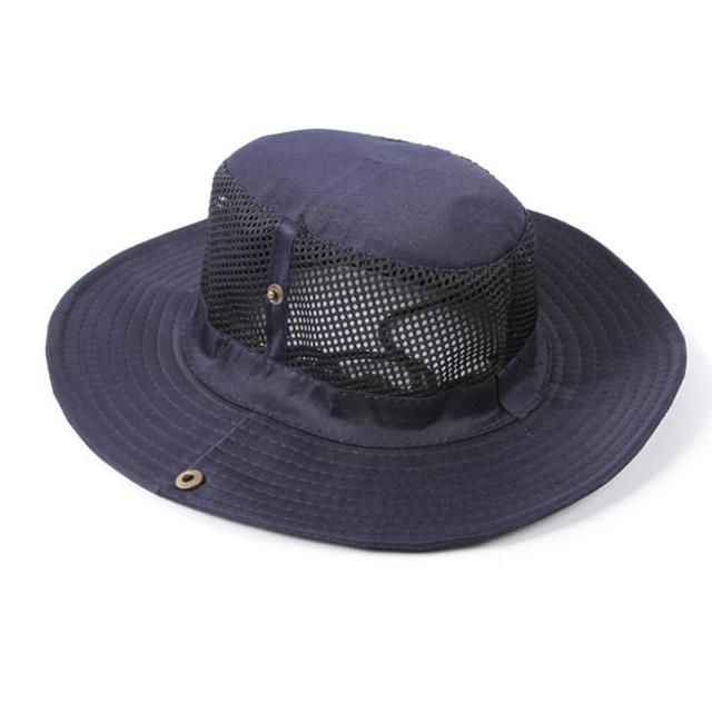 2019 caliente hombres verano playa sombrero moda hombres grandes al aire libre transpirable gorra sol protector barril sombrero ancho-brimmed verano playa tapas