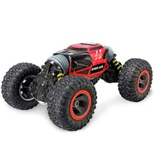 Car Truck Scale Double-sided 2.4GHz One Key Transformation All-terrain Vehicle Varanid Climbing Car Remote Control Toys
