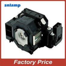 100% Snlamp Замена ELPLP41 лампы проектора V13H010L41 лампы S5 S6 + S52 S62 X5 X6 X52 X62 EX30 EX50 TW420 w6 77C EMP-H283A